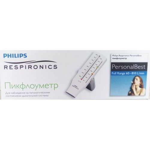 Philips Respironics Personal Best Пикфлоуметр hh1327/00, Full Range 60-810, для взрослых, 1 шт. цена